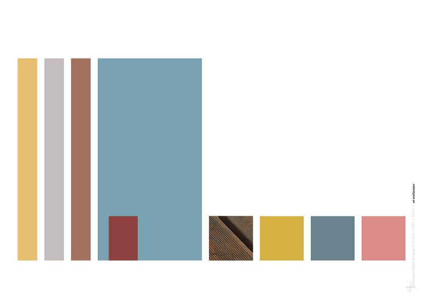 fargekoder og materialer