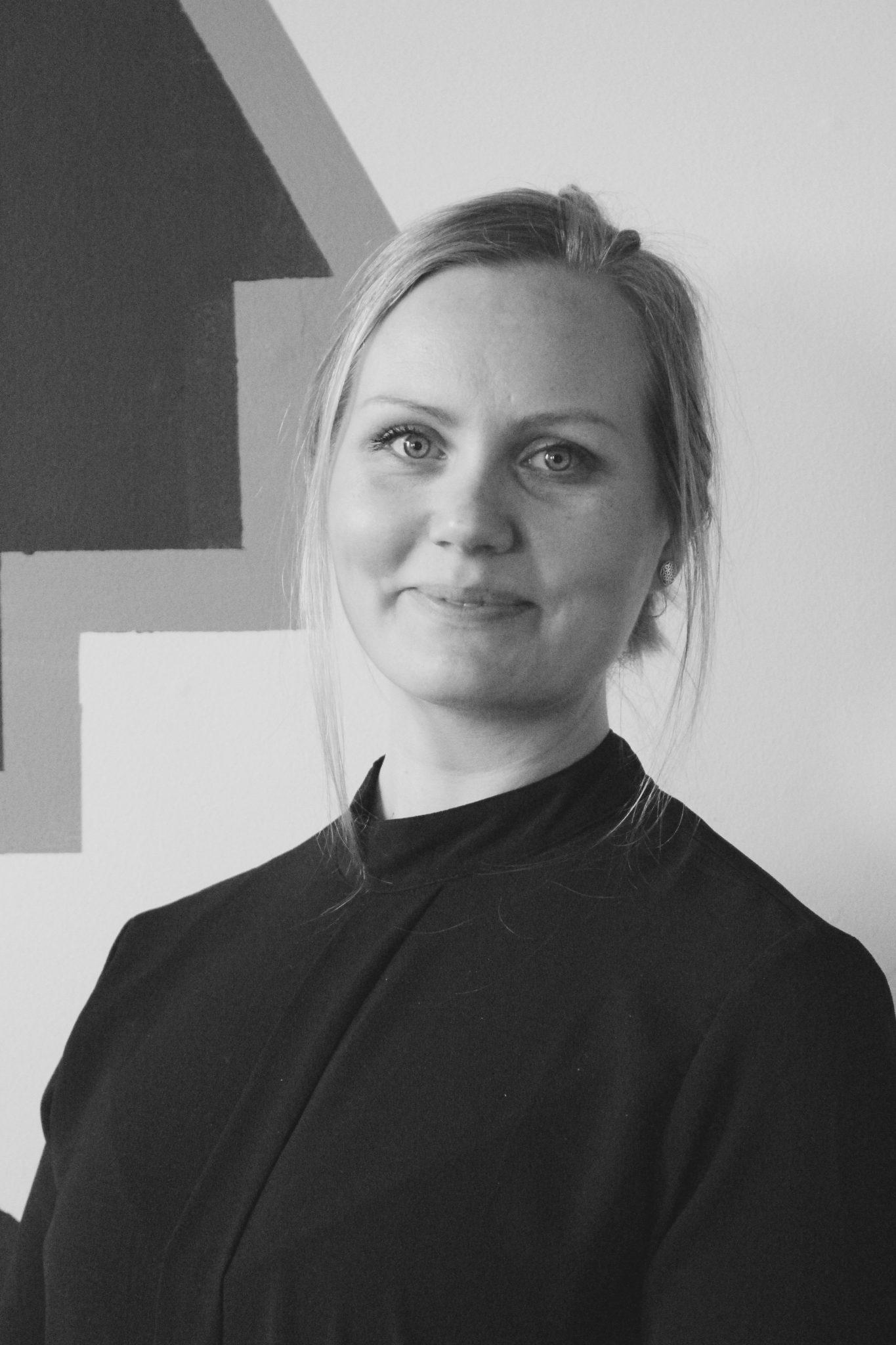 Interiørarkitekt og arkitektstudent Pia